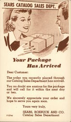 Sears, Roebuck and Co. Catalog Sales Department