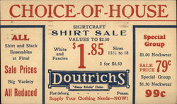 "Doutrichs ""Always Reliable"" Clothes - Choice - Of - House"