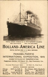 Holland-America Line - Panama Pacific International Expo