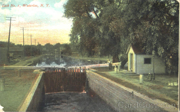 Lock No. 1. Waterloo New York