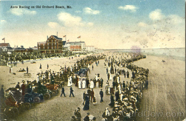 Auto Racing Old Orchard Beach Maine