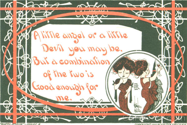 A little angel or a little Devil Romance & Love