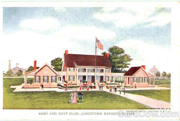 Army And Navy Club Jamestown Exposition