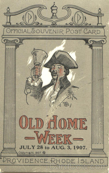 Old Home Week Providence Rhode Island