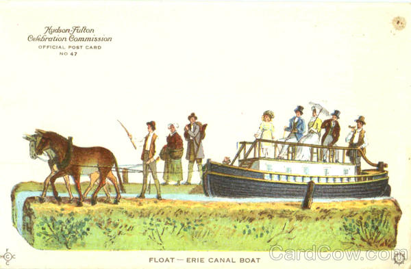 Float Erie Canal Boat Exposition