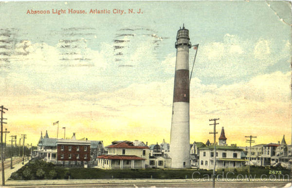 Absecon Light House Atlantic City New Jersey Lighthouses