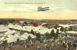 Bird's -Eye View Of New York State Fair Postcard