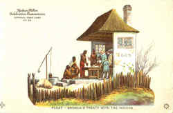Float Bronck's Treaty With The Indians