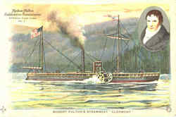 Robert Fulton's Steamboat Clermont
