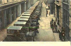 Loading Delivery Wagons