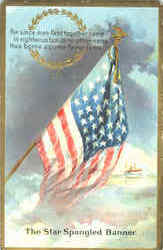 The Star Spangled Banner Postcard