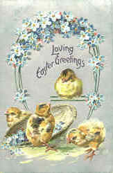 Loving Easter Greetings Postcard