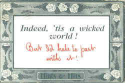 A Wicked World