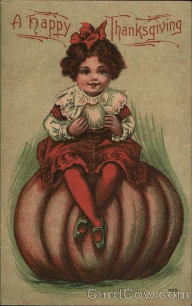 A Happy Thanksgiving Children