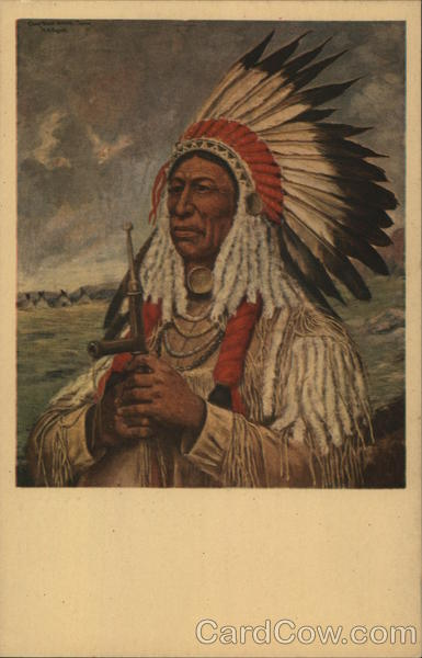 Steal Horses Oglala Sioux chieftai Native Americana