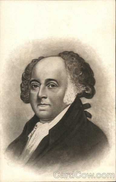 Portrait of John Adams Presidents