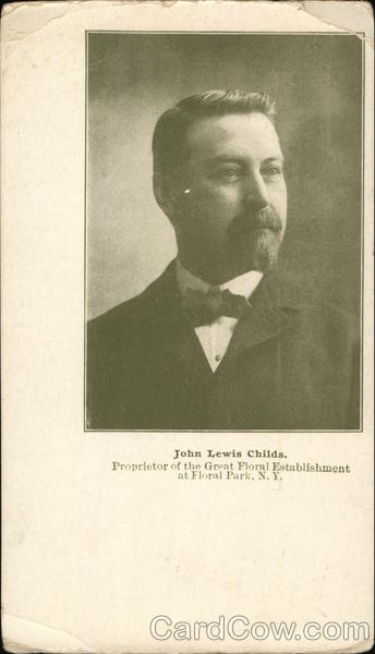 Portrait of John Lewis Childs - Proprietor of the Great Floral Establishment at Floral Parks NY