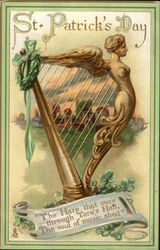 St. Patrick's Day - Irish harp