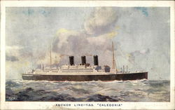 "Anchor Line - T. S. S. ""Caledonia"""