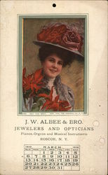 J.W. Albee & Bro. Jewelers and Opticians - March 1919