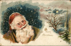 A Merry Christmas - Santa in the snow