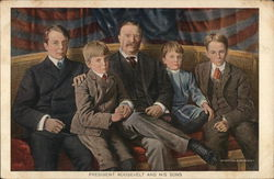 President Roosevelt and his sons
