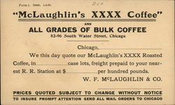 """McLaughlin's XXXX Coffee"""