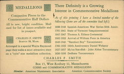 Charles F. Smith Coins & Commemorative Medallions