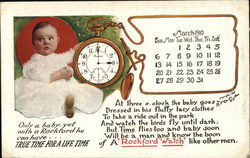 March 1910 Rockford Watch Calendar