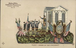 Float - Order of the Cincinnati - army parade float