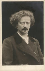 Portrait of Ignacy Jan Paderewski