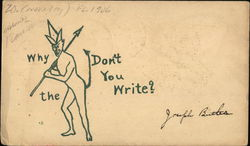 Devil - Why the devil don't you write?
