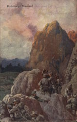Soldiers in a Mountainous Region