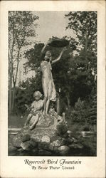 Roosevelt Bird Fountain by Bessie Potter Vonnoh