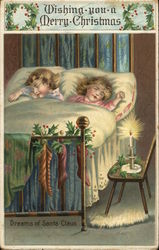 Wishing you a Merry Christmas - sleeping children