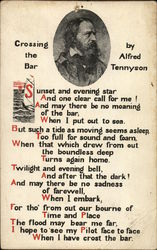 """Crossing"" the Bar by Alfred Tennyson"