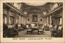 Paquebot France - Le Grand salon Louis XIV - The lounge