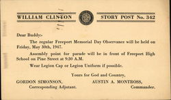 William Clinton Story Post No. 342
