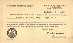 Text Only - American Philatelic Society
