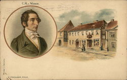 Carl Maria von Weber - Portrait and house