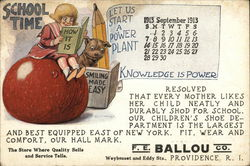 F. E. Ballou Co. Calendar - September 1913