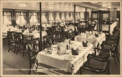 View of Half Main Dining Saloon: Royal Eagle