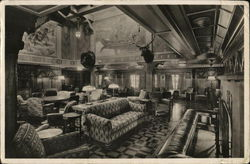 S.S. Washington Smoking Room