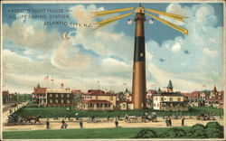 Absecom Light House and US Life Saving Station - Atlantic City NJ