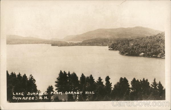 Lake Sunapee from Garnet Hill, Sunapee, N.H. New Hampshire