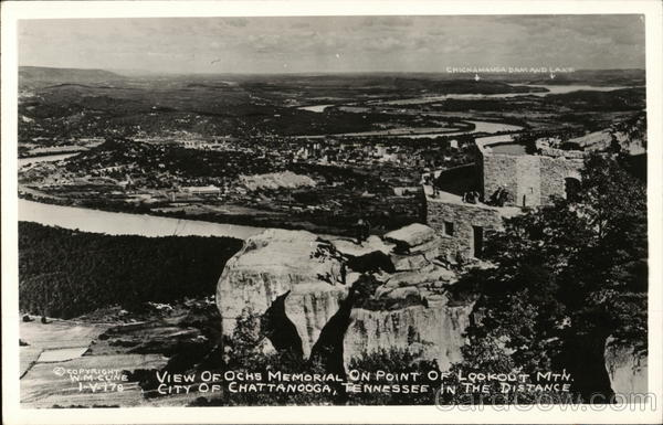 Ochs Memorial, Lookout Mountain Chattanooga Tennessee