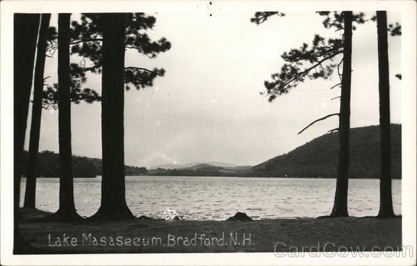 Lake Masaseeum, Bradford, N.H. New Hampshire
