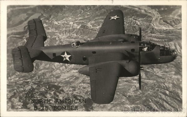 North American B-25 Bomber Military