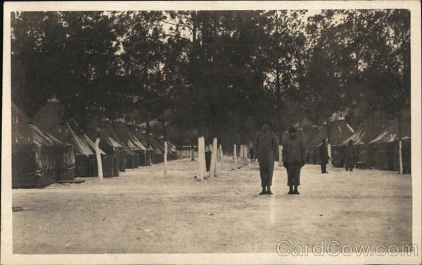 Soldiers at Camp Military
