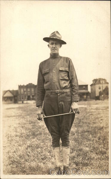Military Man in Uniform